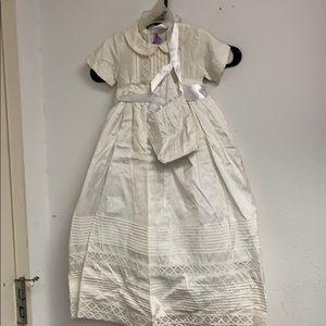 Vintage White Child's Gown